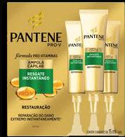 Ampolas Capilar Pantene Pro-v Restauração Com 03 U 15mL