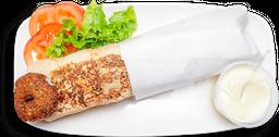 Lanche Falafel