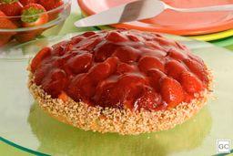Torta de Morango - Pequena
