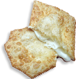 Pastel quatro queijo