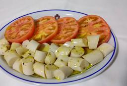 Salada de Palmito e Tomate
