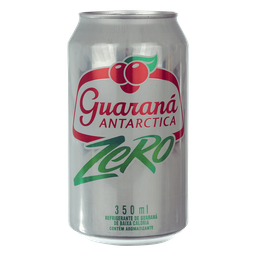 Guaraná Antarctica zero açúcar (lata 350