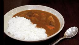 Curry Japonês Com Carne + Combo