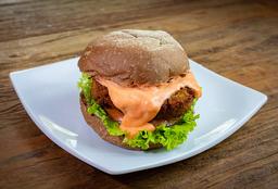 Falafel Burger ( Hambúrguer de Grão de Bico )