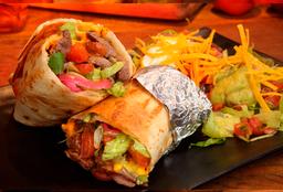 Mex - Tradicional E Delicioso Burrito Mexicano