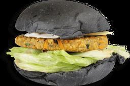 Black Burger Vegetariano - Banana Da Terra
