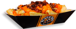 Batata Canoa com Cheddar e Bacon