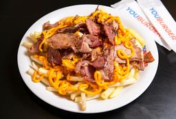 Porção de Batata Frita + Cheddar Cremoso + Bacon