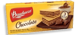 Biscoito Bauducco Wafer De Chocolate 140 g