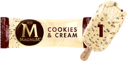Sorvete Kibon Magnum Cookies Cream 83g