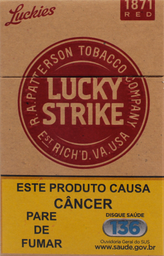 Cigarro Lucky Strike Red 1 U