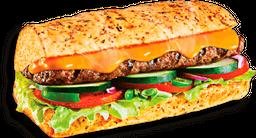 Steak Cheddar Cremoso - 15cm