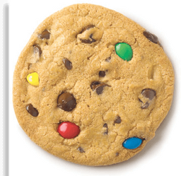 Cookie Gotas Coloridas
