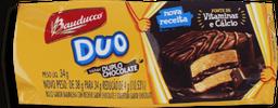 Bolinho Duo Duplo Chocolate Bauducco 34G