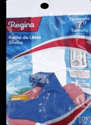 Balão Liso Pera Sortido REGINA Pacote com 8 Unidades