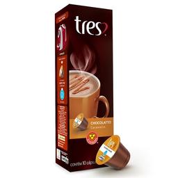 Cápsula ChocolaTinto Caramello 3 Coracoes Com 10