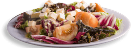 Salada Brie e Mix de Folhas