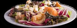Salada de queijo coalho do chef