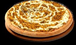 Pizza de Frango com Cheddar