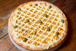 Pizza de Milho com Catupiry