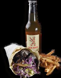 Combo: Kebab Falafel + Baer Mate