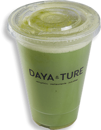 Suco verde orgânico