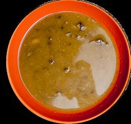 Sopa de Abobrinha com Cogumelos