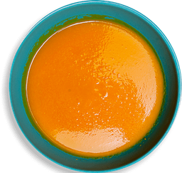 Sopa de Cenoura com Gengibre