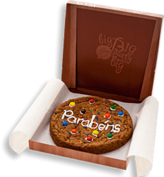 "Cookie Decorado - ""Parabéns"""
