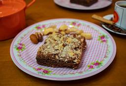 Brownie Cremoso com Castanhas