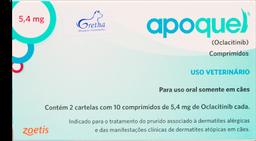 Medicamento Dermatologico Apoquel - 3,6mg 20 comp