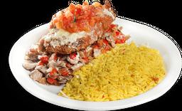 Miami Cubano Chicken Stack