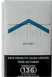 Cigarro Marlboro Silver Box 1 U