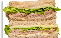 Sanduíche Natural Atum + Mussarela
