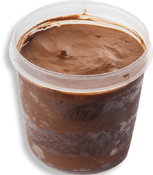 Bolo Mousse De Chocolate Belga - 220ml