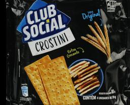 Biscoito Club Social Crostini Original 80g