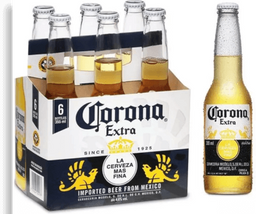 Six Pack Cerveja CORONITA Long Neck 207ml 7607d69f9a