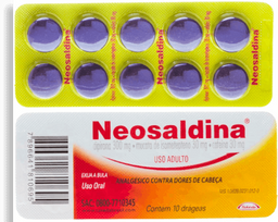 Neosaldina 1 Blister Com 10 Drageas