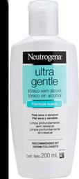 Tônico Neutrogena Ultra Gentle Pele Seca E Sensível Sem Álcool 2