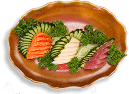 Sashimi simples (16 fatias)