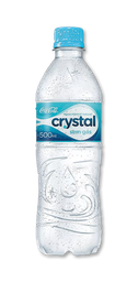 Água Crystal Mineral Sem Gás - 500ml