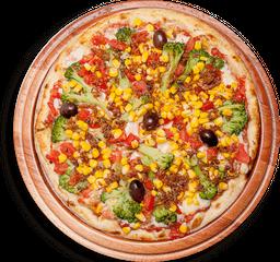 Pizza À Moda Do Chefe Grande