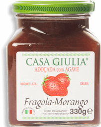 Geleia Italiana Casa Giulia Morango C/ Agave 330g