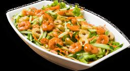 Salada China Pinheiros de camarão