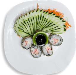 Especial Hot Roll  sem arroz, com cream cheese - 12 unidades