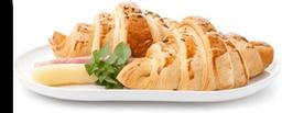 Croissant Presunto e Queijo 1un