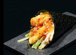 Temaki salmão thai