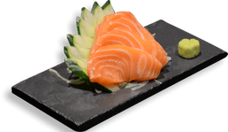 Sashimi salmão simples