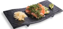Sashimi salmão thai