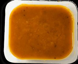 Sopa de Abobora com Carne Moída